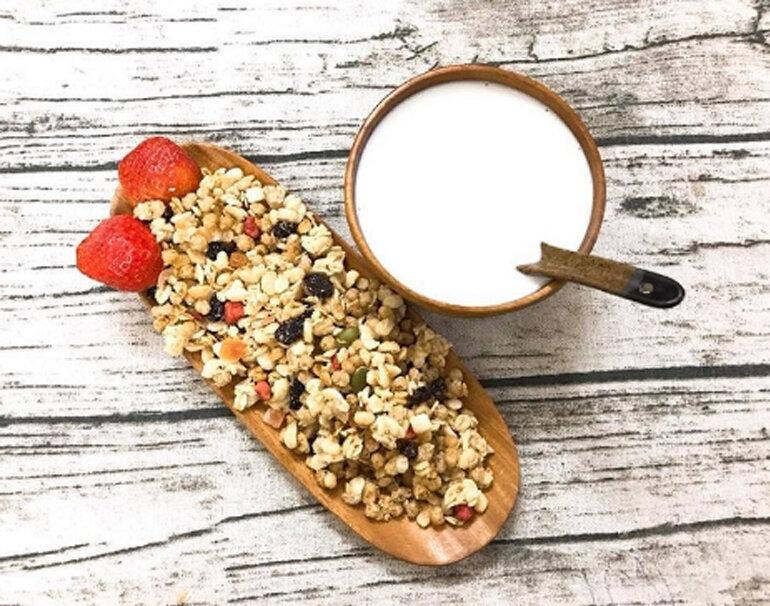 Ngũ cốc ăn sáng tốt cho sức khỏe
